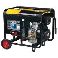 Quality Vertical Portable Diesel Generator 5KW with 80a - 180a DC Welder for sale