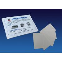 Quality White ATM Cleaning Kit Full Textured Flocked Cleaning Card Pre Saturated With Alcohol Free Cleaner for sale