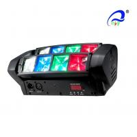 Quality LED Graphic Display Mini Beam Spider Moving Head Light Adjustable Speed Strobe for sale