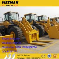 Quality brand new wheel loader sdlg LG958L with pallet forks,  front in loader  made in volvo factory china for sale for sale