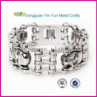 China Hot New Products on China Market Stainless Steel Motorcycle Bracelet on sale