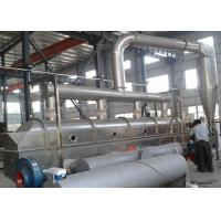 China Organic Potassium Acetate Stainless Steel Fluid Bed Dryer , CE Certification on sale