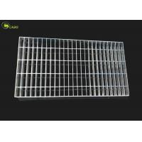 Buy Steel Cover Mesh Hot Dip Galvanized Bar Grating Floor Ginged Grate Plain Grid at wholesale prices