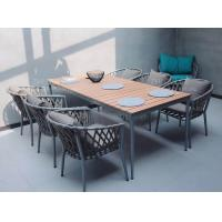 Buy Hot sale Poly belt chair Outdoor Garden furniture sets Coffe mesh fabric chair at wholesale prices