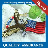 Quality china supplier embroidered custom patches, iron onembroidered patches custom for kid for sale