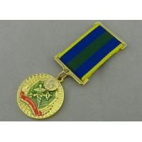 Quality Zinc Alloy Custom Awards Medals Die Casting with Transparent Enamel for sale