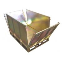 Buy cheap Warehouse Metal Storage Bins-storage metal folding container from wholesalers