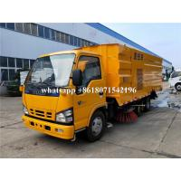 Quality High Pressure Truck Mounted Road Sweeping Machine Vacuum Street Cleaning Truck for sale