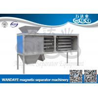 Quality Automatic Non Ferrous Metal separator , 5 Layer Magnetic Rod Cabinet For Dried-powder for sale