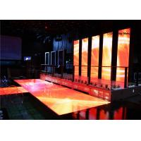 Quality IP65 Slim LED Portable Dance Floor Hire Full Color With CE ROHS UL for sale