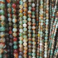 Quality Peacock Agate  round beads for sale