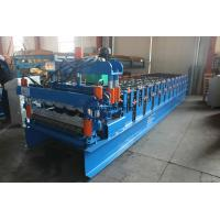 China Auto 840 Metal Roofing Sheet Roll Forming Machine PPGI / GI Material With PLC Control on sale