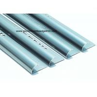 Quality 8mm Half Round Aluminium Tile Trim Polished Sapphire Blue For Kitchen for sale