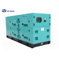 Buy cheap Soundproof 250kVA Cummins Diesel Generator for Backup Power , Cummins DG Set product