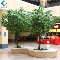Indoor Decoration Artificial Tree Plant , Artificial Chinese Phoenix Tree for sale