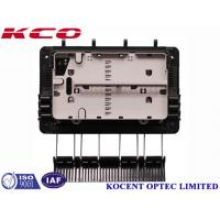 Quality Water proof FTTH Drop Cable Optical Fiber Splitter Box For 1x8 Splitter KCO-GJS08 3 inlet 3 outlet for sale