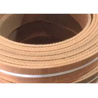 Buy cheap Roll Non Asbestos Woven Brake Lining Brown Reddish ISO Certification from wholesalers