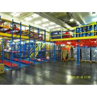 Quality Powder Coat Steel Rack Supported Mezzanine For Distribution Center for sale