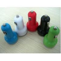 Quality 2.1A Universal Dual USB Car Phone Charger Colorful For Iphone 5 for sale