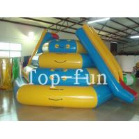 PVC Inflatable Water Parks , Inflatable Playground For Rental Durable