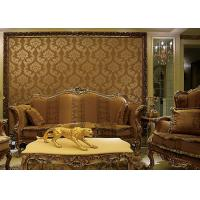 Buy cheap European Style Wet Embossing peel and stick wall covering 0.685*8.32M Different Colors product