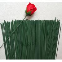 Quality Green simulation flower stem length 40 cm diameter of 2.2 mm can be dried flowers plastic sponge paper flowers rod for sale