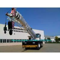 Quality Heavy Duty 80 Tonne Mobile Crane Truck RT80 With CAT Engine Automatic Gear Box for sale