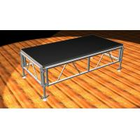 Buy cheap 8ft X 4ft mm Portable Stage Platform Stage Black / Brown Aluminum Stage Truss product