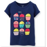 Quality lovely girl shirt ,cute shirt ,cotton ,3-8T for sale