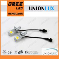 Quality 50w 3600 Lumen H7 Cree Led Car Headlight Kit  , D1 D2s LED Headlight Kit for sale