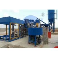 QT12-15 PLC Control Concrete Brick Making Machine , Hydraulic Automatic Hollow Block Machine