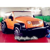 Quality Advertising Inflatable Jeep Model, Inflatable Car Model for Auto Show for sale