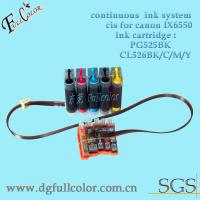 China Ciss Continuous ink supply system for Canon IX6550 printer Inks Cartridges on sale