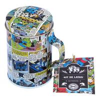 Kit De Latas Metal Tin Container
