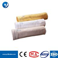 Quality Cement Factory Price Polyester Air Filter Bag Manufacturer for Dust Collector Bag Filter Grades for sale