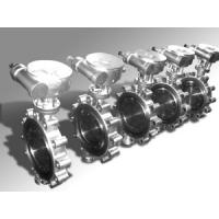 Buy Lug-Wafer Gear Box Cast Steel Metal Seat Butterfly Valves at wholesale prices