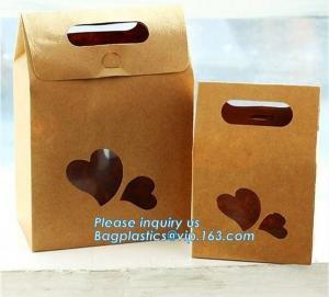 China china custom design luxury shopping gift paper carrier bag template,Luxury Kraft Brown Paper Shopping Gift Jewelry Paper on sale