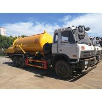 Quality 16 Tons 210hp Waste Management Trash Truck , Vacuum Sewage Suction Truck for sale
