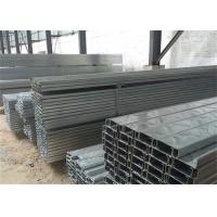 China Building Material Galvanised Steel Purlins Z Section 150 To 300mm For Roofing on sale