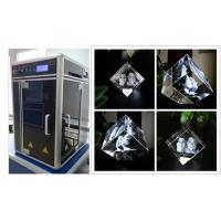 Quality Glass Crystal 3D Laser Engraving Machine , Cost - Effective 3D Laser Engraving System for sale