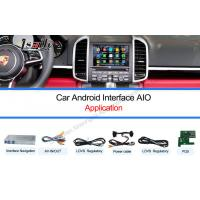 Quality Multimedia Video Interface / Android Auto Interface Work on 10-15  Cayenne PCM3.1 System for sale