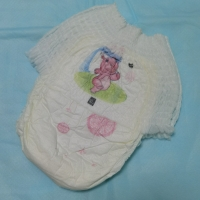 Quality OEM Non Woven Cotton Baby Diaper Pants With Elastic Waistband for sale