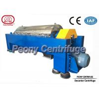 Quality Waste Water Decanter Centrifuges for Steel Factory Sludge Dewatering for sale
