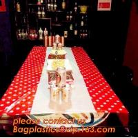 Buy Colorful Polka Dot Table Cloth Plastic Tablecloth Cover for Wedding Birthday Party Supplies/Decoration BAGEASE BAGPLASTI at wholesale prices