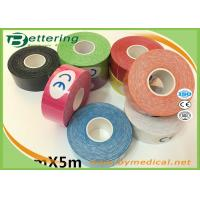 Buy cheap Colored Kt Therapeutic Tape , Sports Medicine Kinesiology Tape For Shoulder Pain from wholesalers
