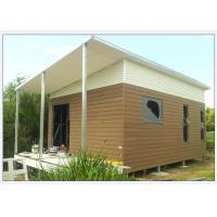 Quality Australia Style Prefabricated House Kits , Modern Prefab House With WPC cladding for sale