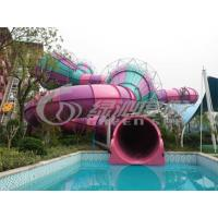 Buy cheap Adults Outdoor Colorfull Fiberglass Water Slides Equipment for Water Sport Games product