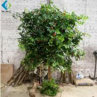 2.5m Height Artificial Fruit Tree , Litchi Fruit Tree For Rainforest Landscaping for sale