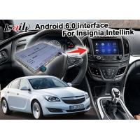 Quality Android 6.0 Car Navigation Box For Opel Vauxhall Insignia Buick Regal video interface for sale