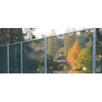 Quality ASTM 392 standard chain link fence with accessories for border fencing for sale